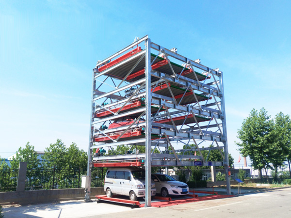 6-storey Lift Sliding Parking Equipment